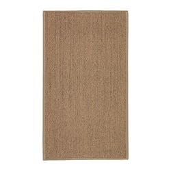 OSTED rug, flatwoven, natural