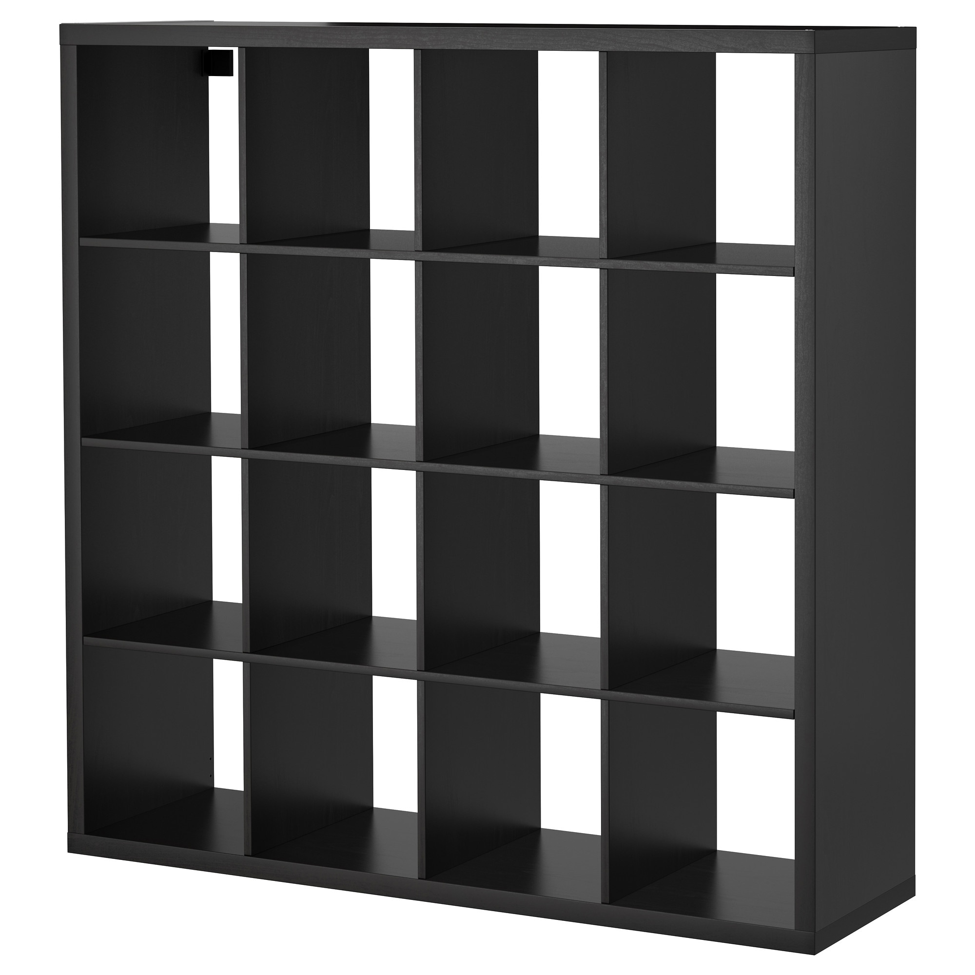 Ikea regal kallax 1x4  KALLAX Shelf unit - black-brown - IKEA