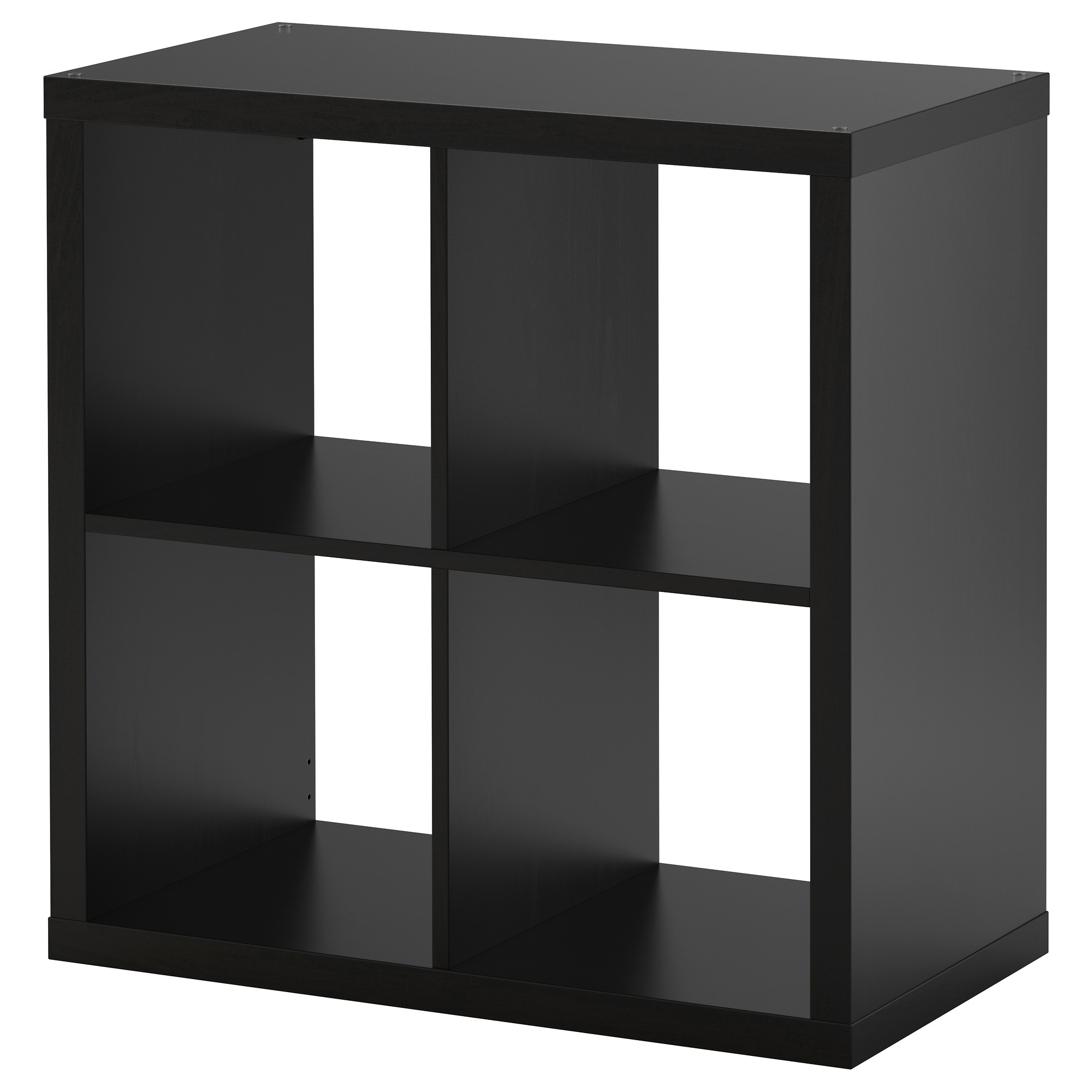KALLAX Shelf unit - black-brown - IKEA