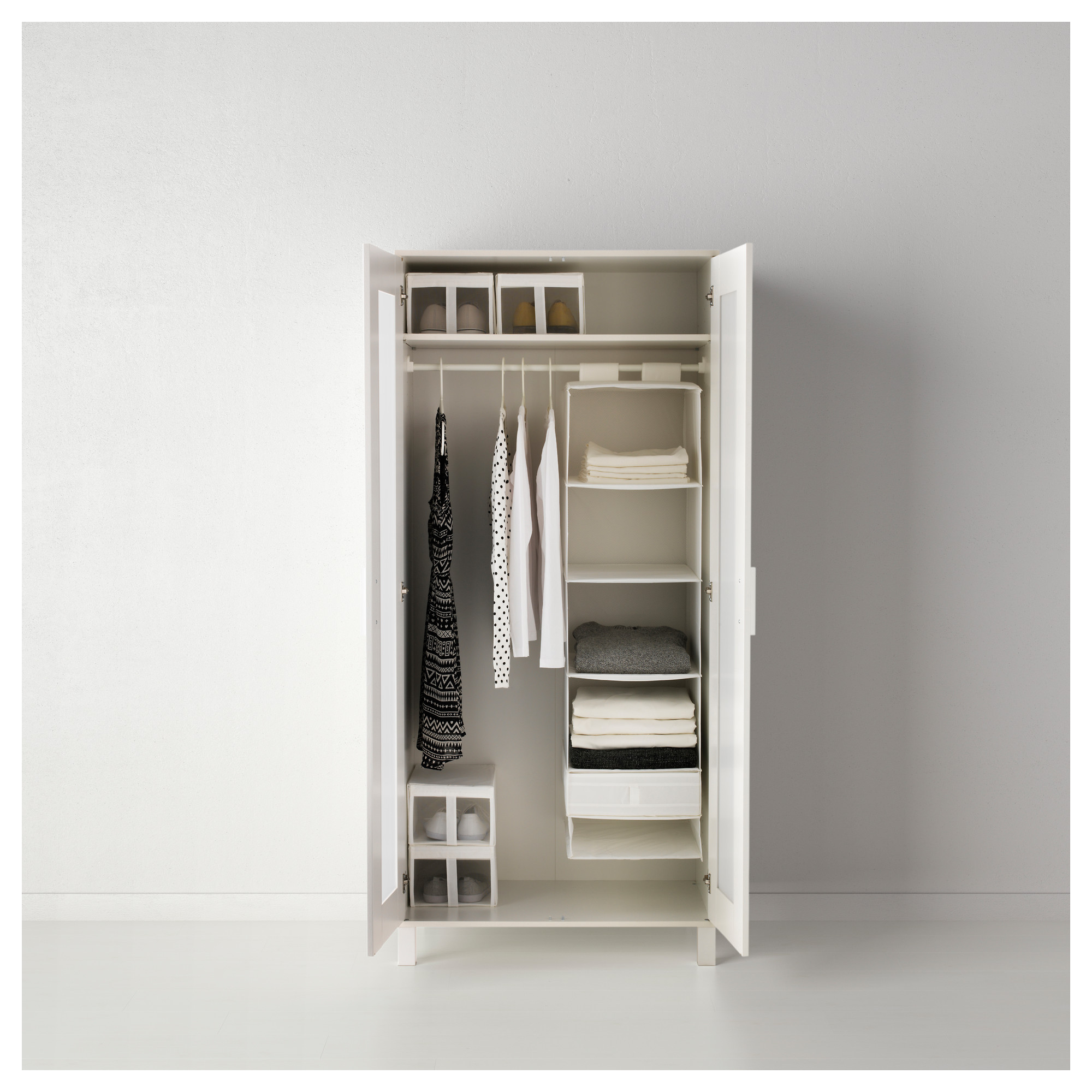 Organizer With 6 Compartments SKUBB White