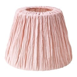 HEMSTA lamp shade, pink Diameter: 20 cm Height: 15 cm
