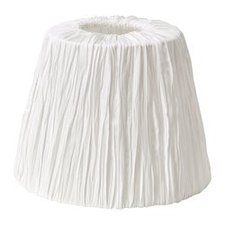 "HEMSTA lamp shade, white Height: 6 "" Diameter: 8 "" Height: 15 cm Diameter: 20 cm"