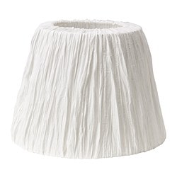 "HEMSTA lamp shade, white Height: 10 "" Diameter: 14 "" Height: 26 cm Diameter: 36 cm"
