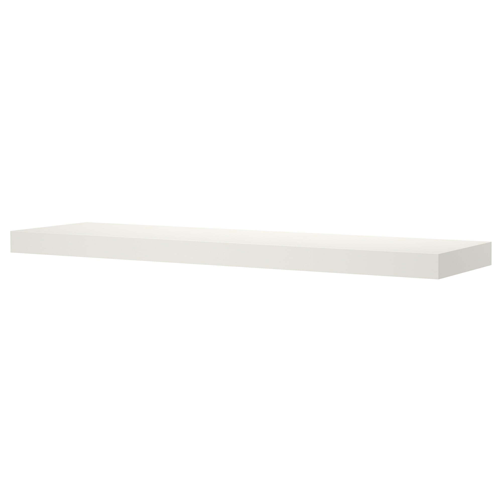 White Floating Wall Shelf lack wall shelf - white - ikea