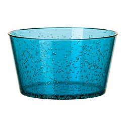 PLACERA serving bowl, turquoise Diameter: 15 cm Height: 9 cm