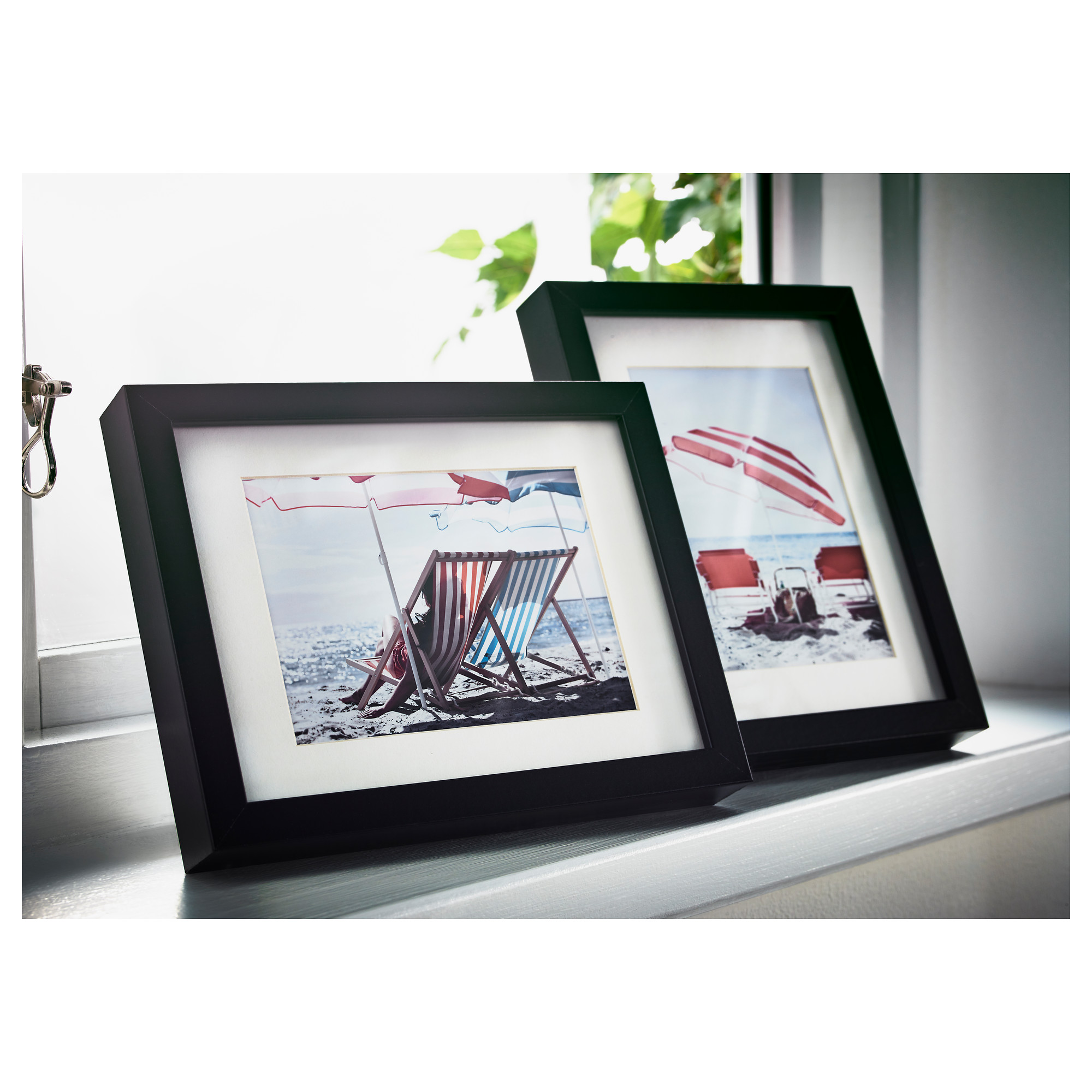 picture frames wall art ikea ribba frame black picture without mat width 5