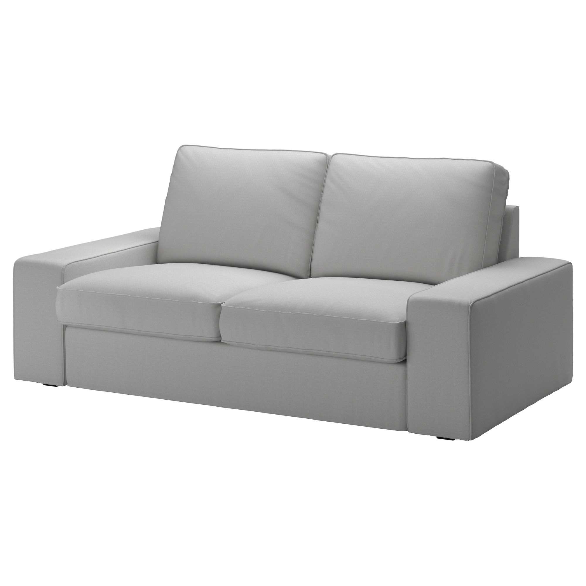 KIVIK Loveseat cover Orrsta light gray IKEA