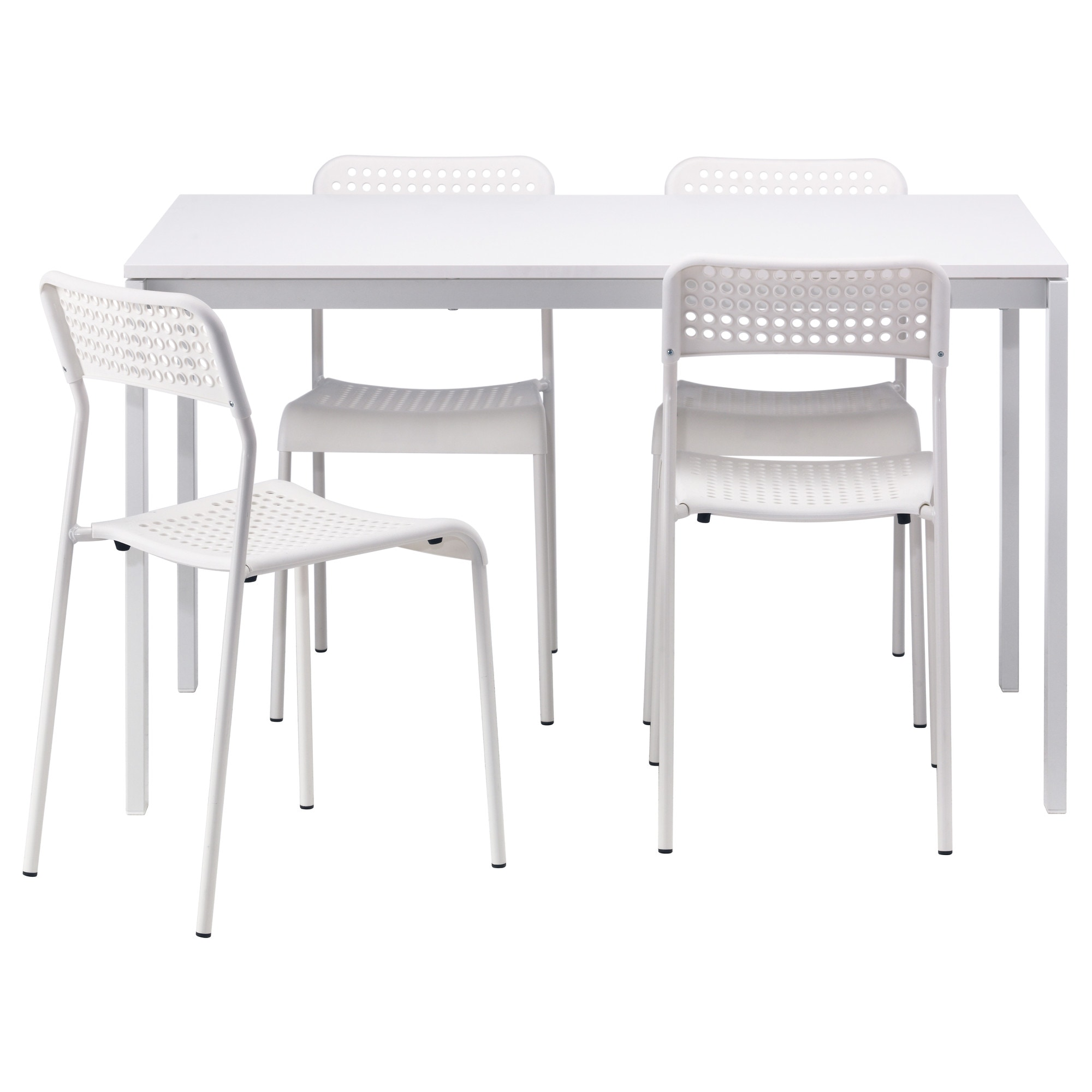 MELLTORP ADDE Table And 4 Chairs