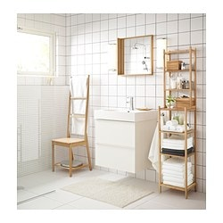 Amazing RÅGRUND Chair With Towel Rack, Bamboo