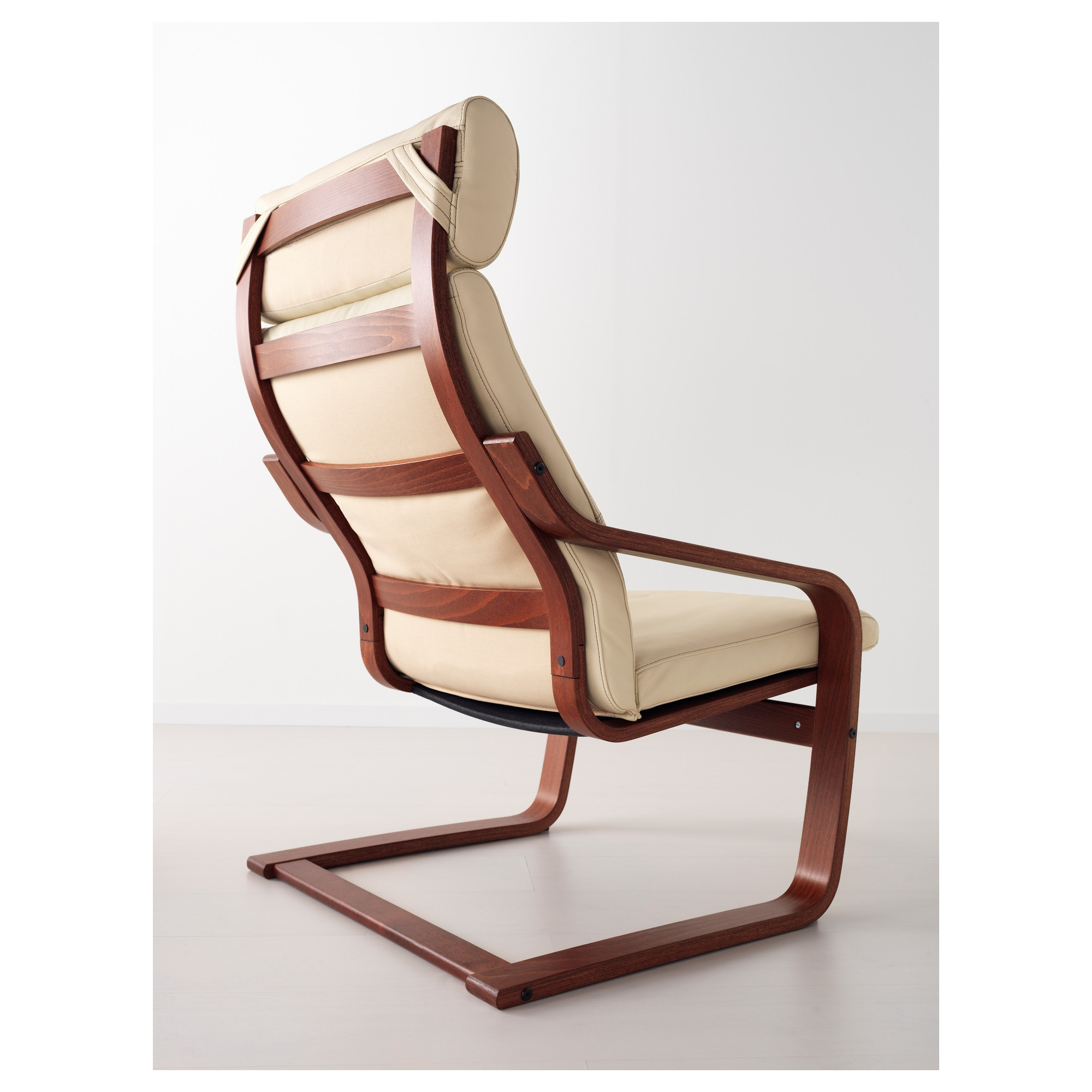 """PO""""NG Armchair Glose off white IKEA"""