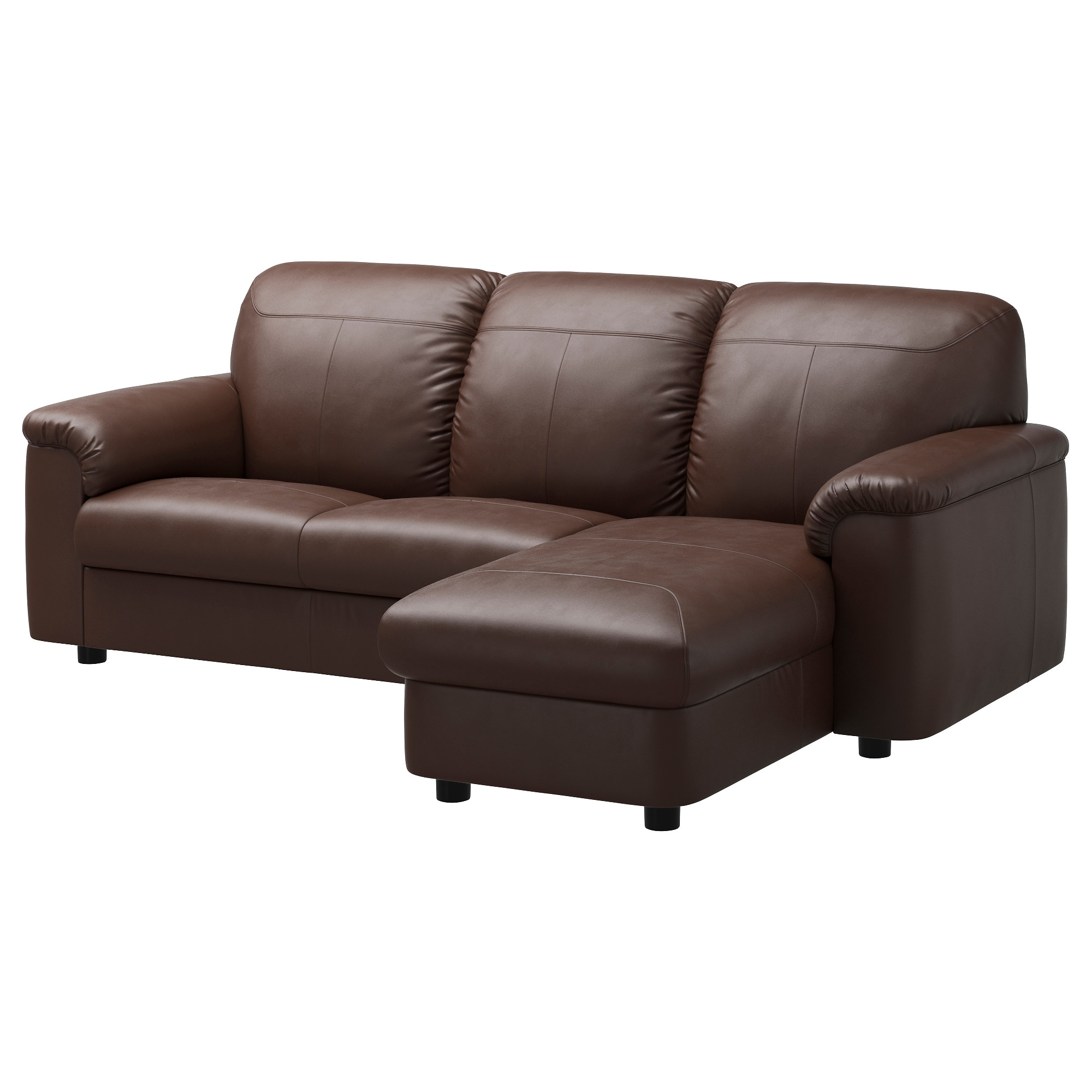 TIMSFORS sectional 3-seat Mjuk Kimstad dark brown Seat width chaise  sc 1 st  Ikea : loveseat with chaise lounge - Sectionals, Sofas & Couches