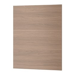 "BROKHULT cover panel, walnut effect light gray Width: 24 5/8 "" System, height: 30 "" System, width: 25 "" Width: 62.5 cm System, height: 76.2 cm System, width: 63.5 cm"