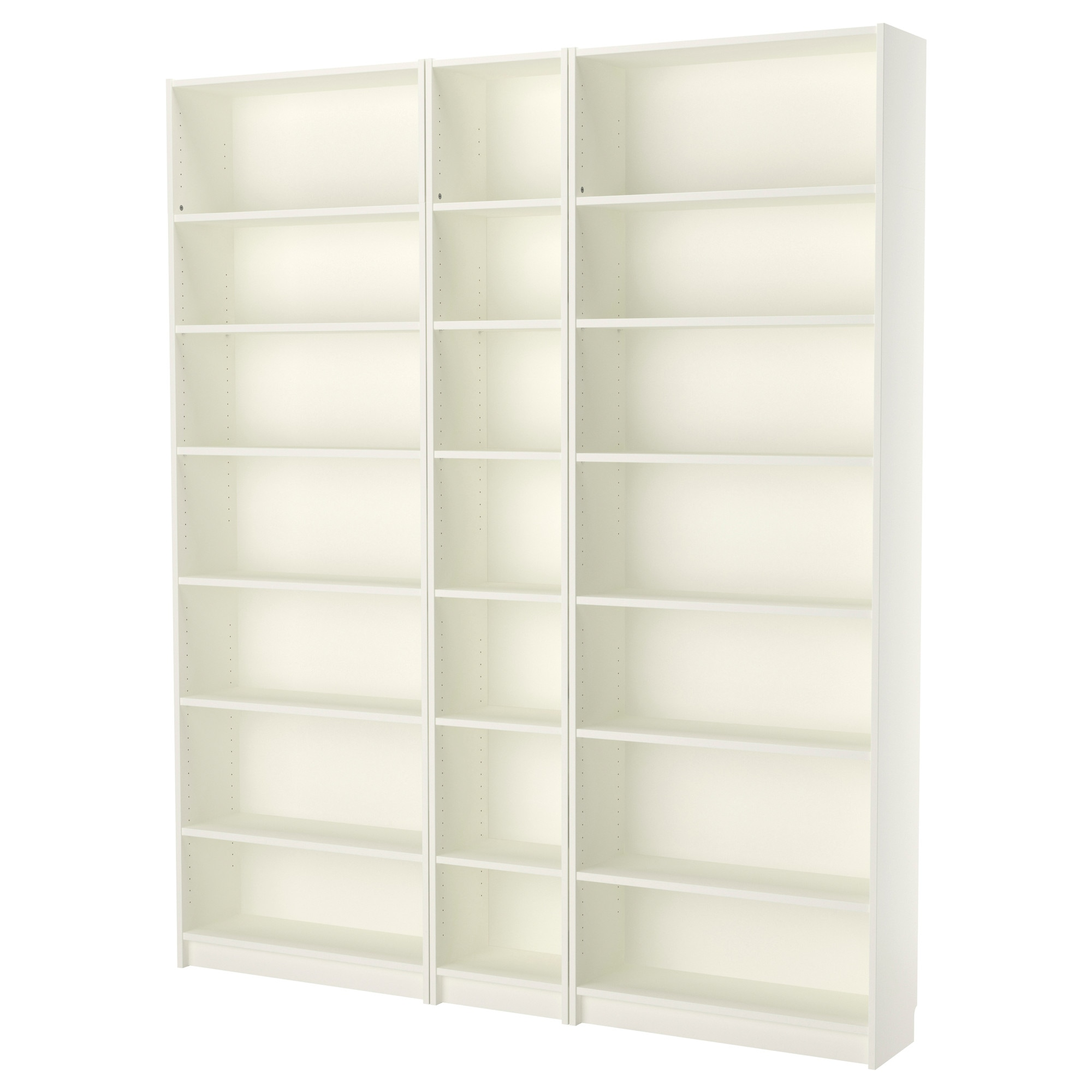 Billy Bookcase White Width 78 3 4 Depth 11 Height