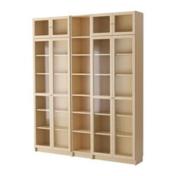 billy oxberg bookcase - Ikea Built In Bookshelves