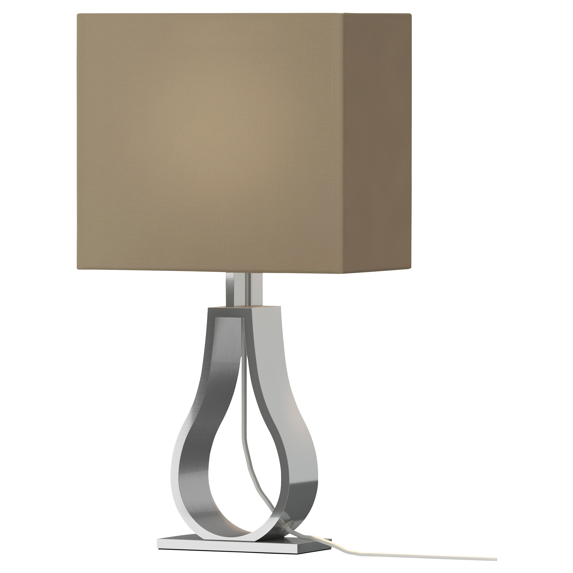 klabb table lamp with led bulb light brown shade width 9 height bedroom nightstand lamps ideas lighting models bedside