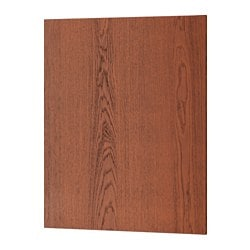 "FILIPSTAD cover panel, brown Width: 24 5/8 "" Height: 30 "" Thickness: 1/2 "" Width: 62.5 cm Height: 76.2 cm Thickness: 1.3 cm"