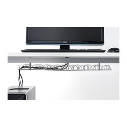 cableorganizer tray under management from cable com desk inc viable wire
