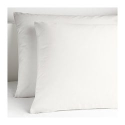 DVALA pillowcase, white Length: 50 cm Width: 80 cm Package quantity: 2 pack