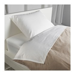 DVALA sheet set, white