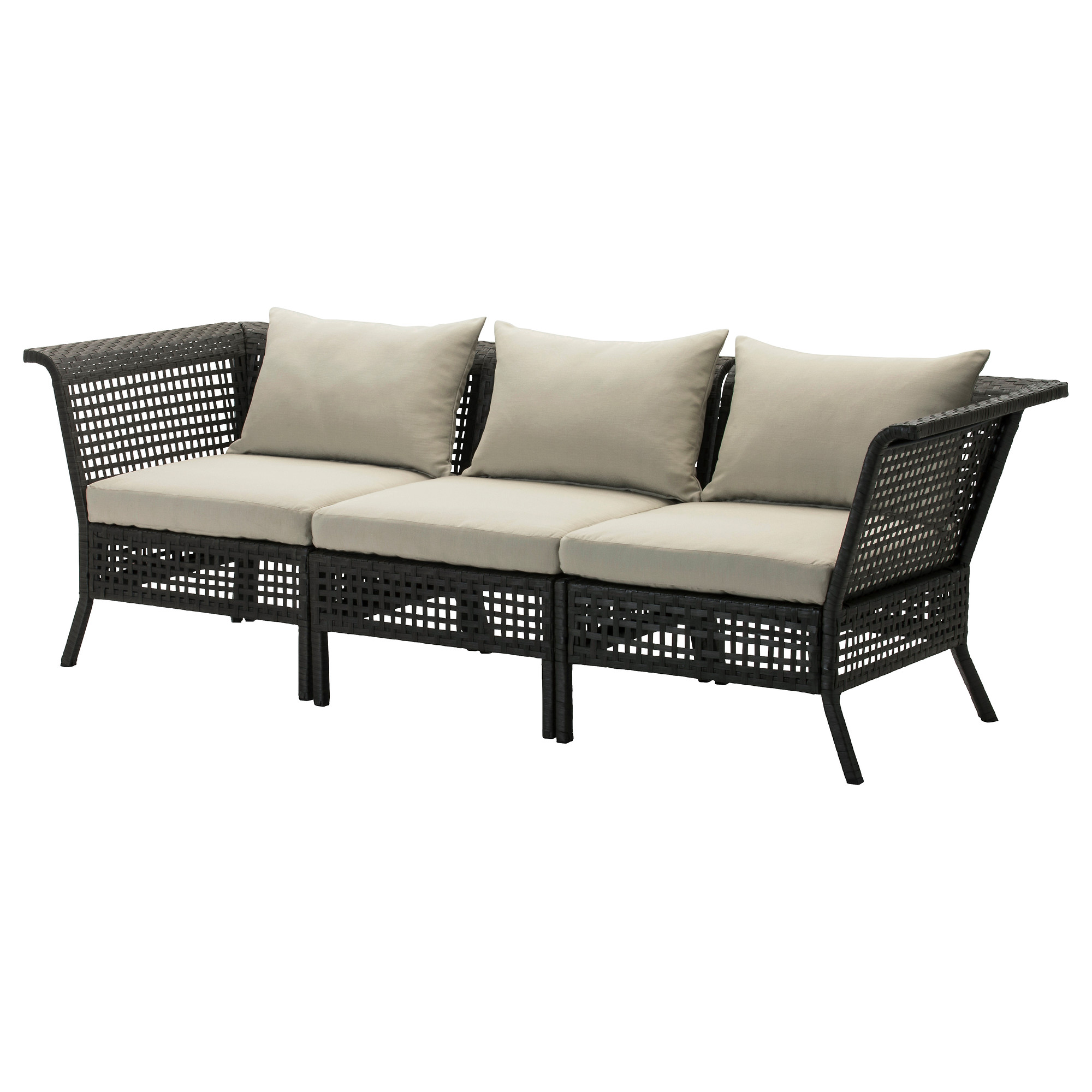 all weather rattan sofa. Black Bedroom Furniture Sets. Home Design Ideas