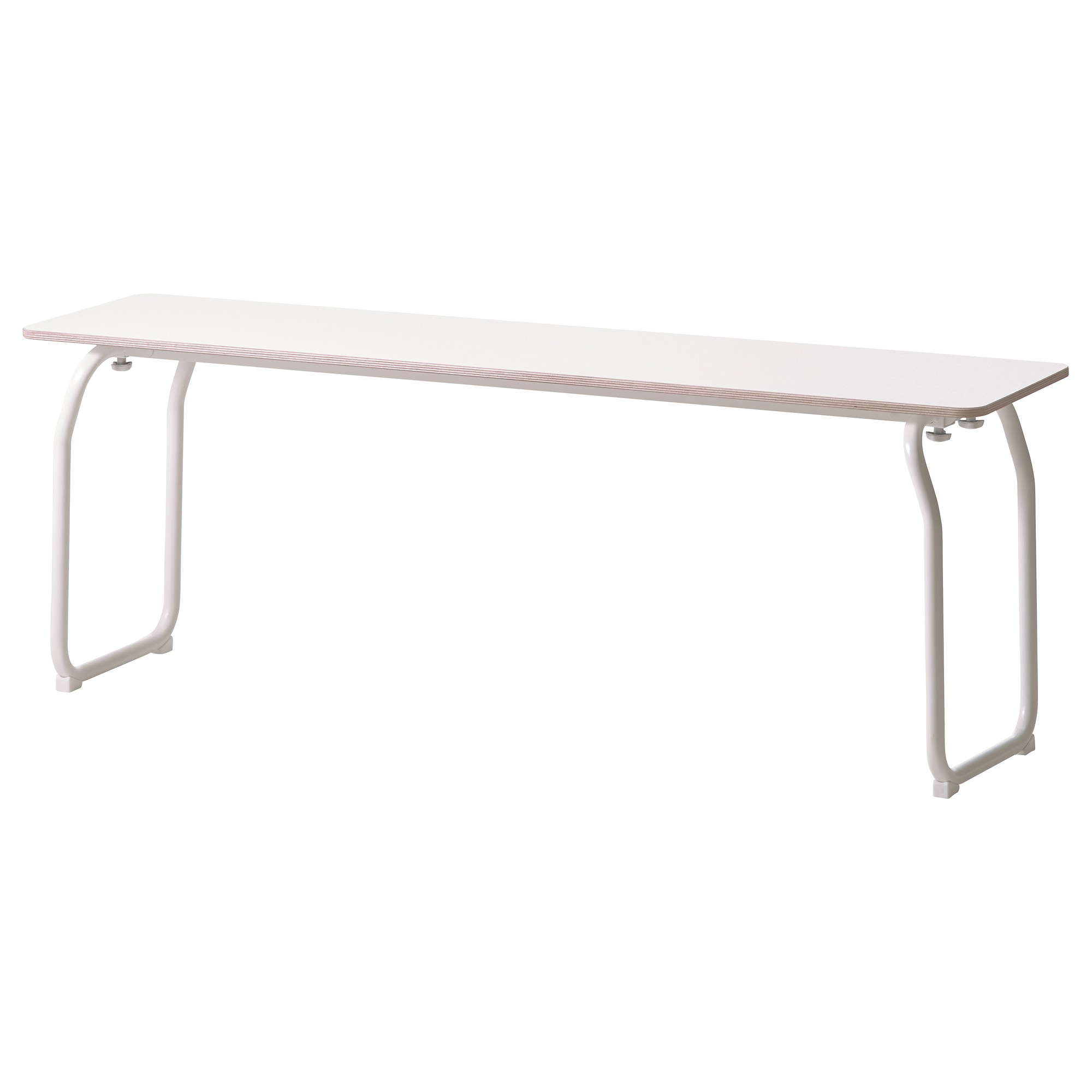 Bedroom bench dimensions - Ikea Ps 2014 Bench In Outdoor White Foldable Length 51 1