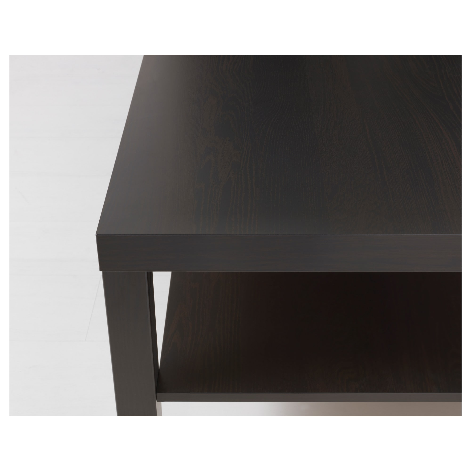 LACK Coffee table black brown IKEA