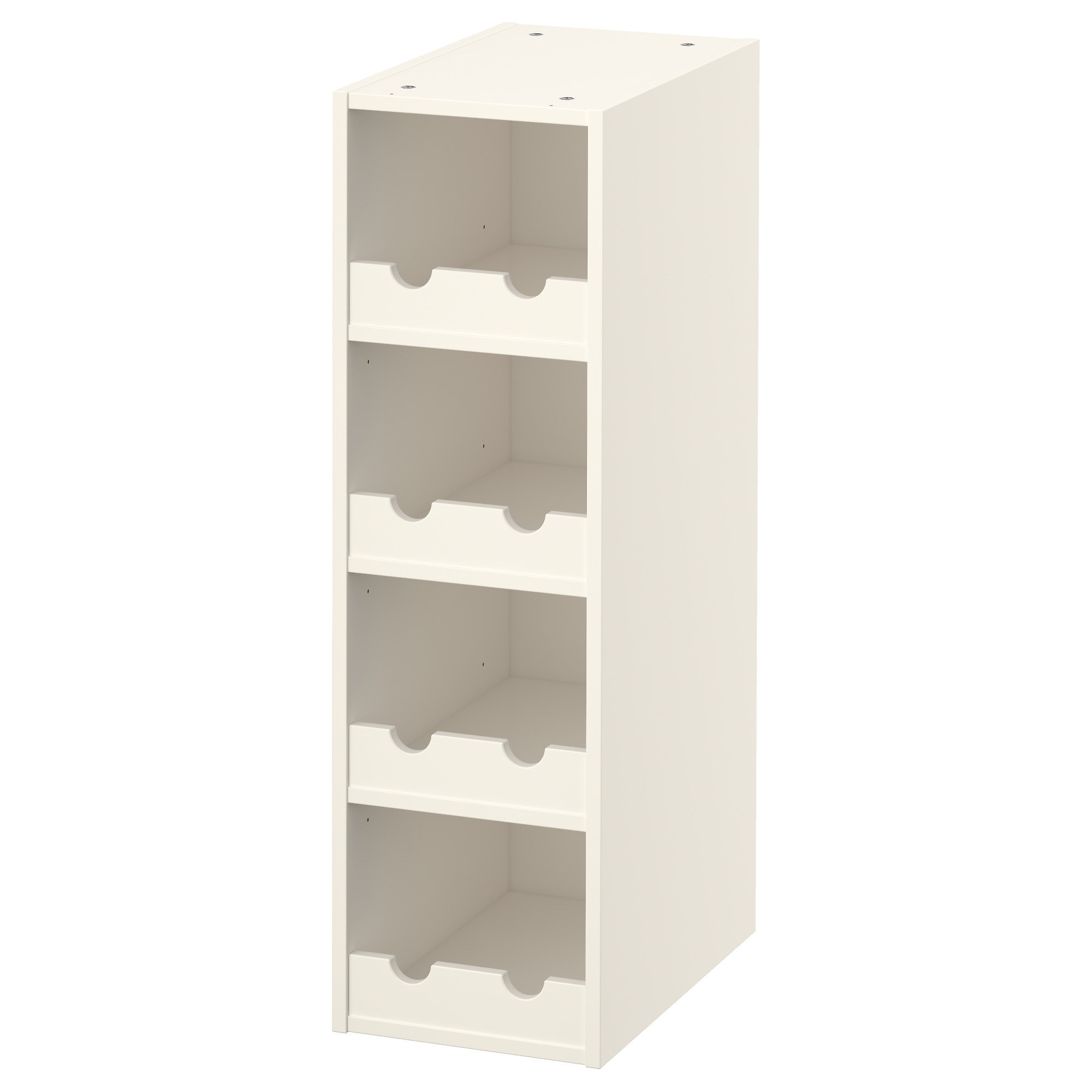 Small wine racks ikea perfect simpli home avalon high for Wine shelves ikea