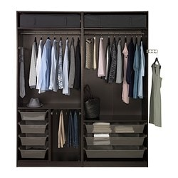 combinaisons sans portes armoires et dressing pax ikea. Black Bedroom Furniture Sets. Home Design Ideas