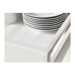 VARIERA drawer mat, white