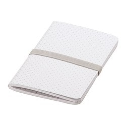 FULLFÖLJA note-book, white Length: 13 cm Width: 8 cm Surface density: 80 g/m²