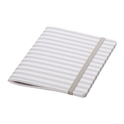 FULLFÖLJA note-book, white Length: 20 cm Width: 15 cm Surface density: 80 g/m²