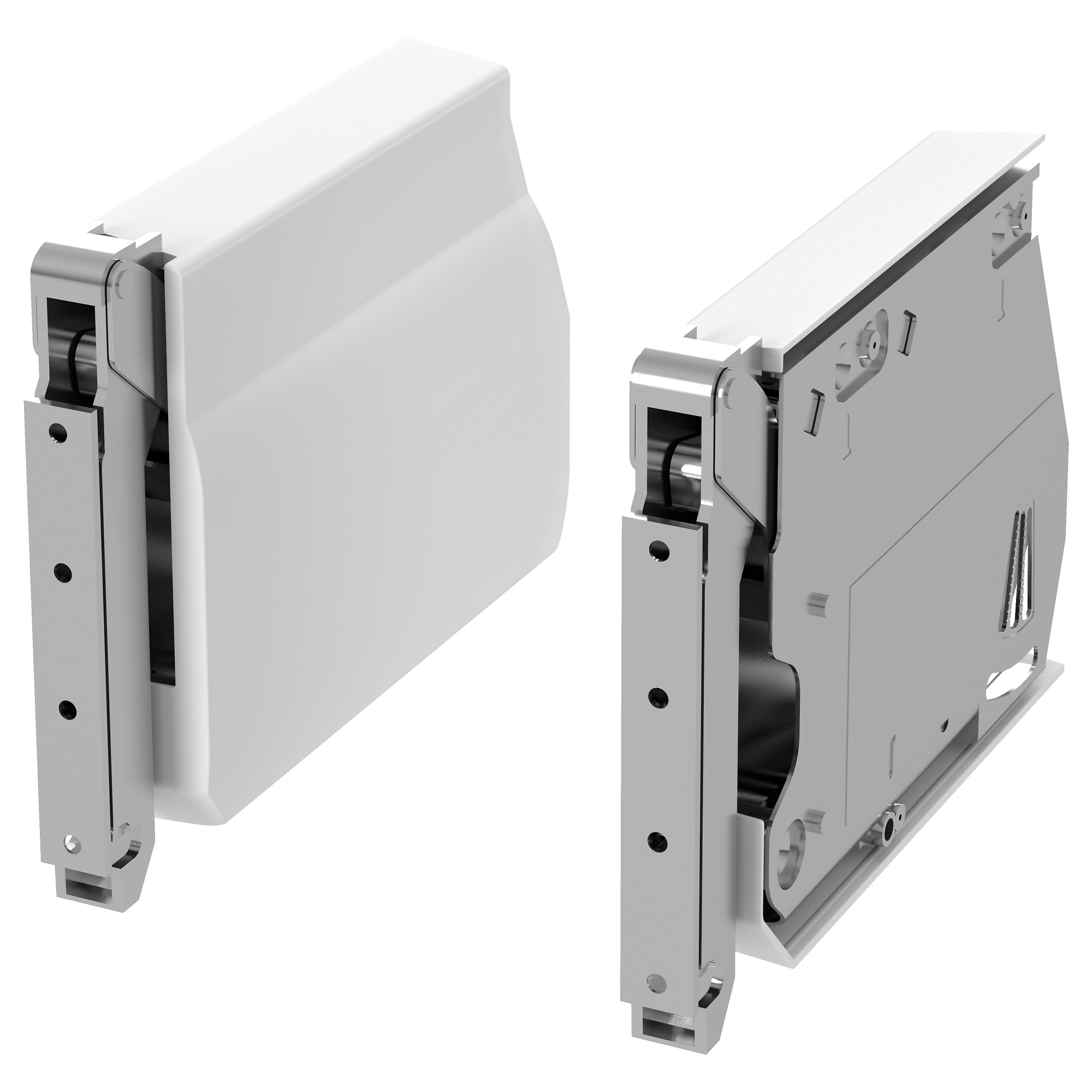 UTRUSTA Large Hinge For Horizontal Door   White   IKEA