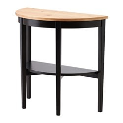 ARKELSTORP console table, black