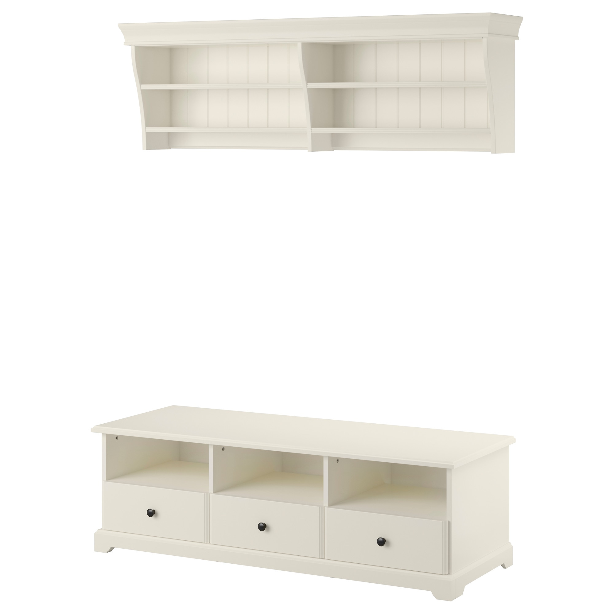 Liatorp Tv Storage Combination White Ikea # Combinaison Besta Et Liatorp
