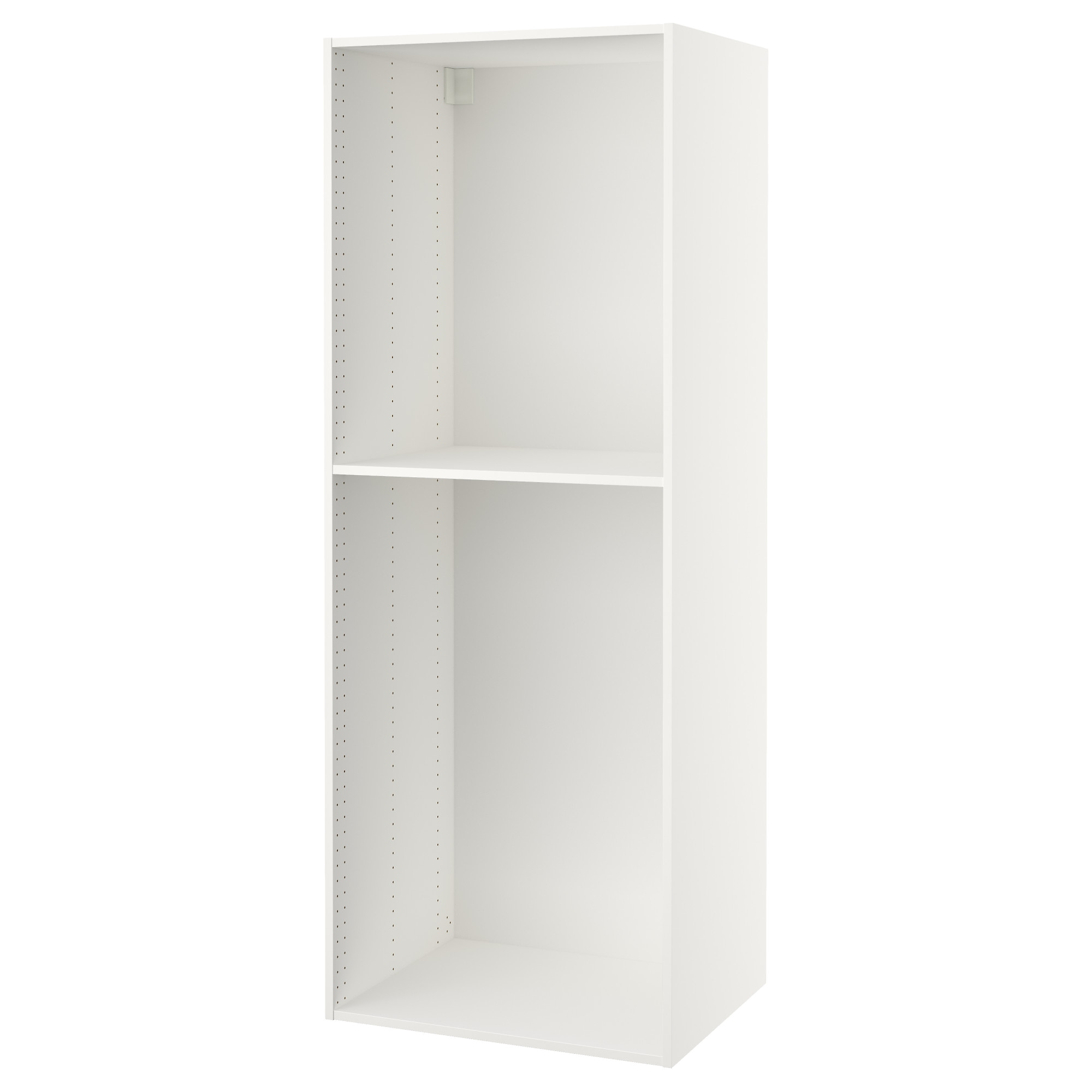 SEKTION high cabinet frame, white Depth without suspension rail: 23 5/8
