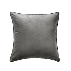SANELA cushion cover, gray