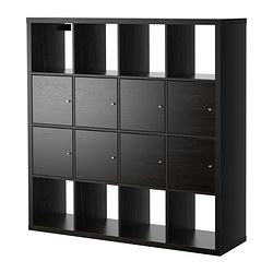 Kallax Shelf Unit With 8 Inserts