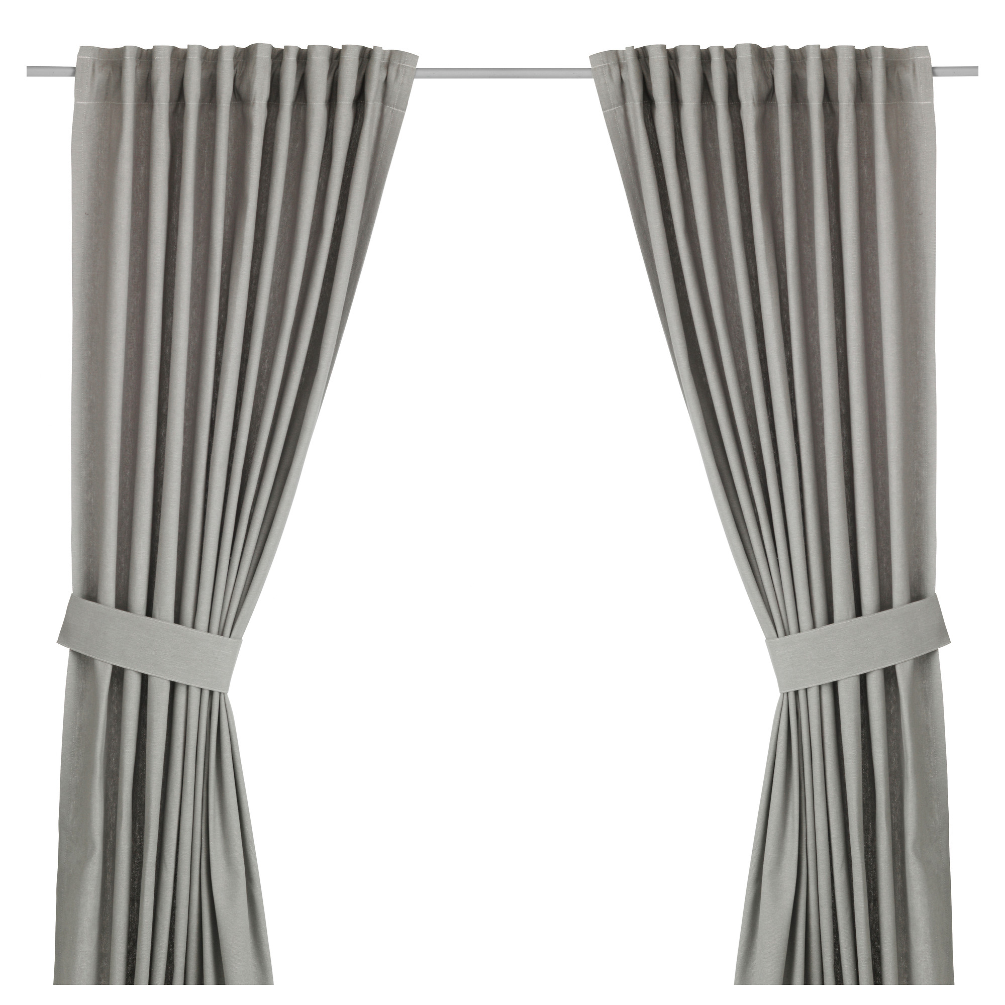 INGERT Curtains With Tie Backs, 1 Pair   IKEA