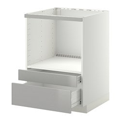 Meubles pour lectrom nagers encastr s syst me metod ikea for Mobile porta microonde
