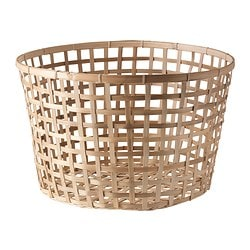 GADDIS basket, natural Diameter: 50 cm Height: 32 cm