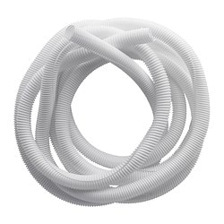 RABALDER cable tidy, white Length: 5 m