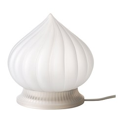 VÅRBY LED table lamp, white Luminous flux: 70 lm Diameter: 16 cm Height: 17 cm