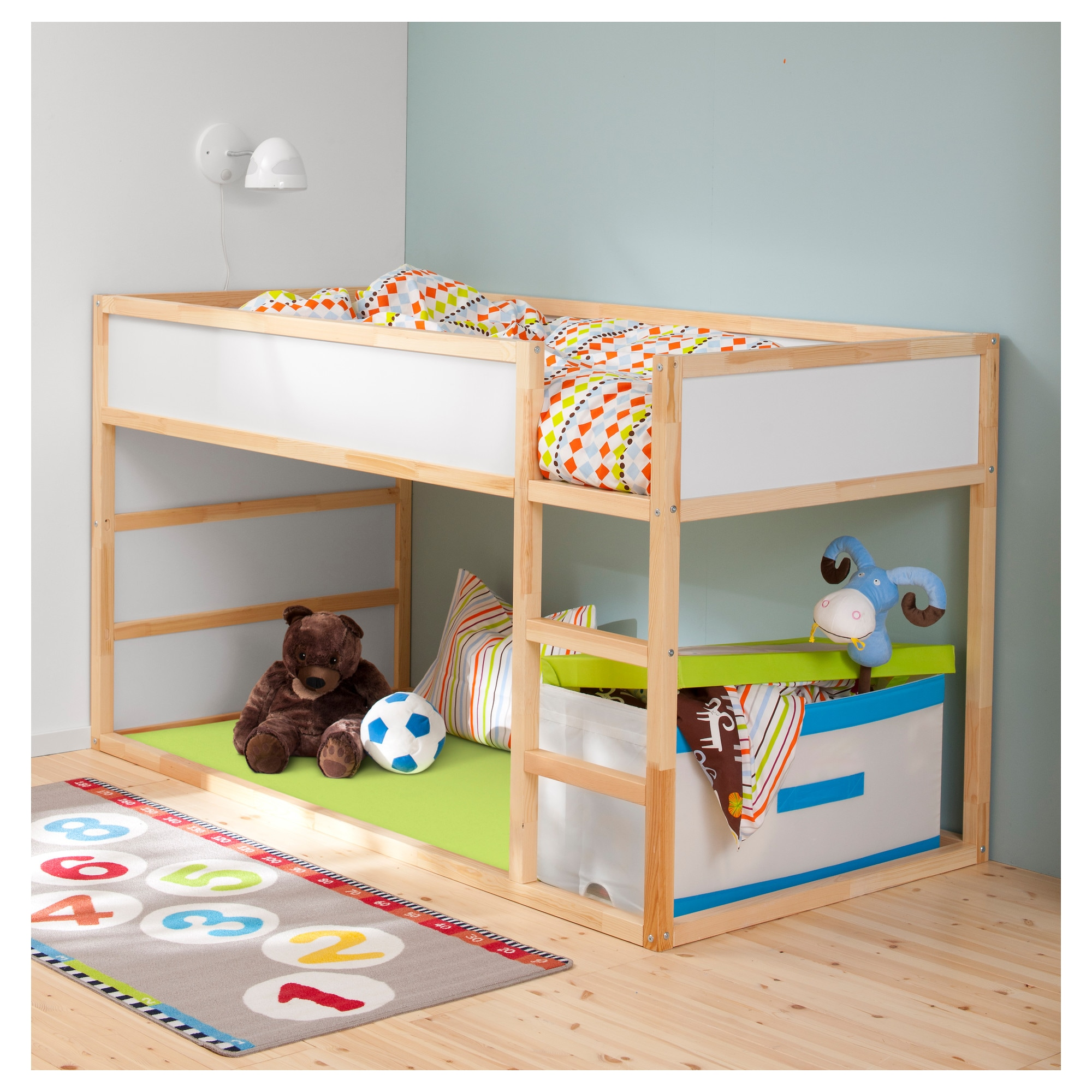 KURA Reversible Bed IKEA - Ikea kid bunk bed