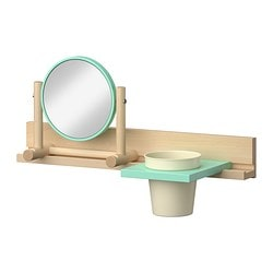 IKEA PS 2014 wall rail 55 w mirror and container Width: 55 cm Depth: 12 cm Height: 41 cm