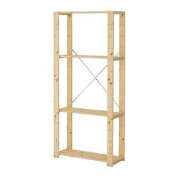 HEJNE Shelf unit softwood  sc 1 st  Ikea & HEJNE Shelf unit - 30 3/4x12 1/4x67 3/8