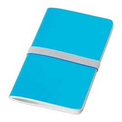 FÄRGGRANN note-book, blue Length: 13 cm Width: 8 cm Surface density: 80 g/m²