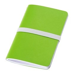 FÄRGGRANN note-book, green Length: 13 cm Width: 8 cm Surface density: 80 g/m²