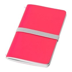 FÄRGGRANN note-book, pink Length: 13 cm Width: 8 cm Surface density: 80 g/m²