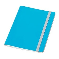 FÄRGGRANN note-book, blue Length: 20 cm Width: 15 cm Surface density: 80 g/m²