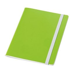 FÄRGGRANN note-book, green Length: 20 cm Width: 15 cm Surface density: 80 g/m²